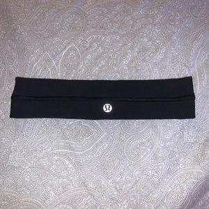 lululemon athletica black headband